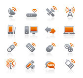 Wireless & Communications Icons — Stok Vektör