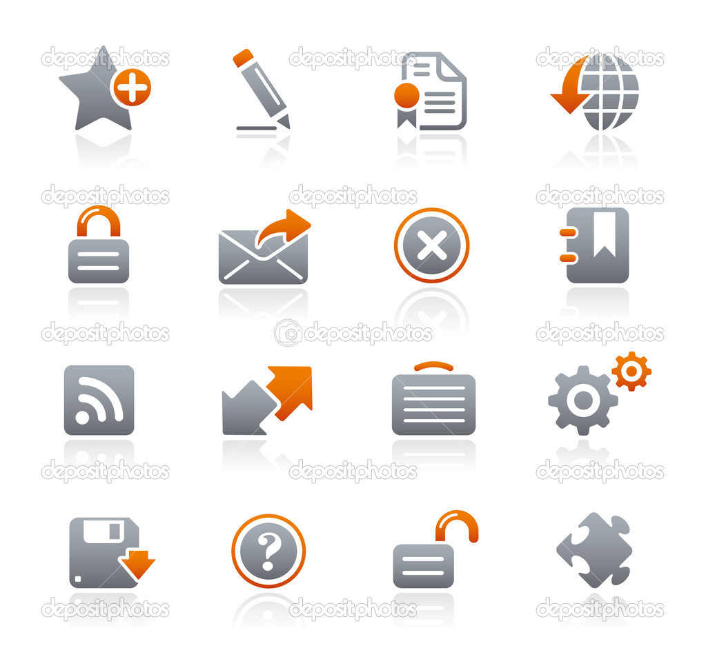 Vector icon set for your website or presentation.  Stock Vector #3017947