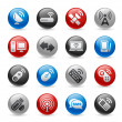 Wireless & Communications Icons - Stock Vector
