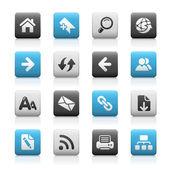 Web Navigation // Mate Series — Stok Vektör