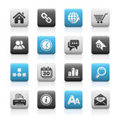Witryna sieci web & internet ikony — Wektor stockowy