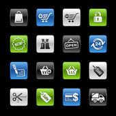 Shopping // Gelbox Series — Stock Vector