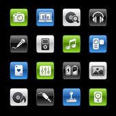 Media & Entertainment — Stock Vector