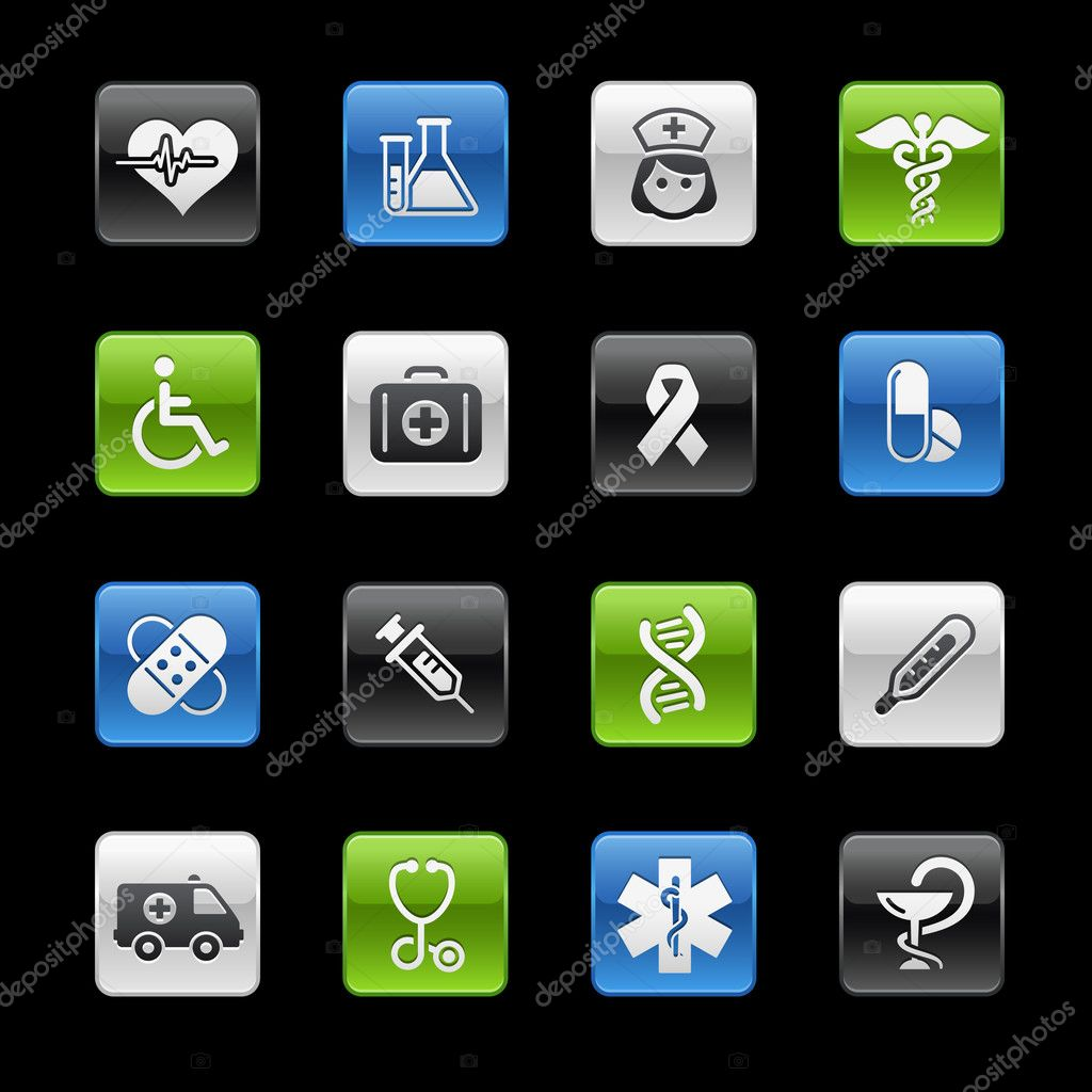 Vector icon set for your website or presentation.  Imagens vectoriais em stock #3031862