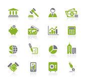 Business & Finance / Natura Series — Stock Vector