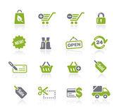 Shopping // Natura Series — Stock Vector