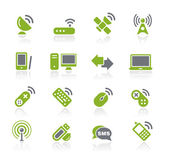 Wireless & Communications — Vector de stock