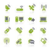 Wireless & Communications — Stock Vector