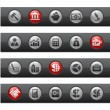 Business & Finance / Button Bar Series — ストックベクタ