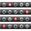 Interface // Button Bar Series - Stockvektor
