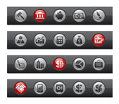 Business & Finance / Button Bar Series — Stock Vector