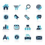 Website & Internet // Azure Series — Stock Vector