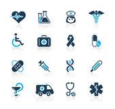 Médica // series azul — Vector de stock