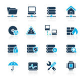 Network & Server // Azure Series — Stock Vector