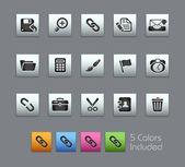 интерфейс / / satinbox serie — Cтоковый вектор