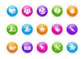 Internet & Blog // Rainbow Series — Stockfoto