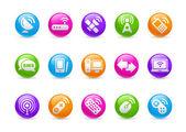 Wireless & Communications // Rainbow Series — Stock Photo