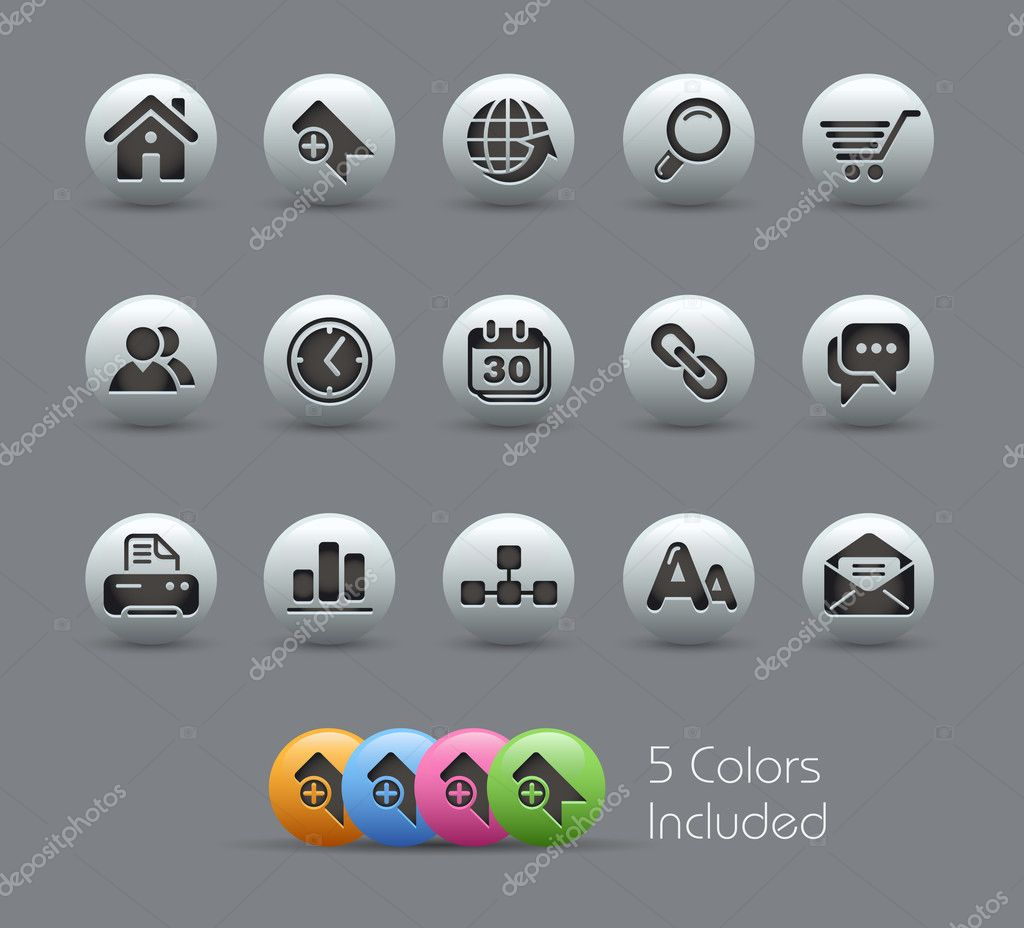+++ The .eps file includes 5 color versions in different layers +++ — Stock Vector #3538131