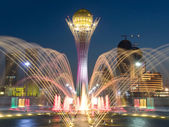 Central square of Astana — Stock Photo