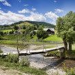 Countryside in Romania — Foto Stock