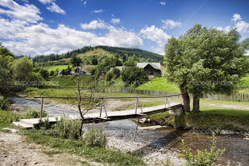 Countryside in Romania — Stock Photo #3006418