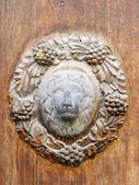 Ancient door detail — Stock Photo