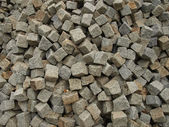 Stone as raw material for the construction — Stock Photo