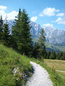View of the Austrian Alps — Stock Photo