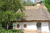 Eski geleneksel ukrayna ev — Stok fotoğraf
