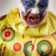 Angry evil clown — Stock Photo #3011078