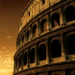 Colosseum sunrise - Stock Photo