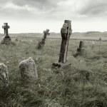 Eerie gravesite — Stock Photo