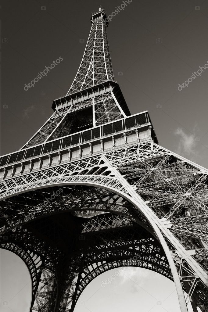The Eiffel Tower in Paris, France. — Stock Photo #3068569
