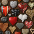 Heart shaped things - Stock Photo