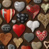 Heart shaped things — Stock Photo