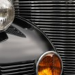 Stock Photo: Antique car grill