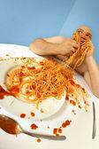 Spaghetti good — Stock Photo