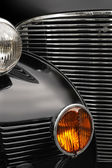Antique car grill — Stock Photo