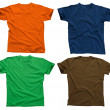 Blank t-shirts 4 — Stock Photo