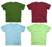 Blank t-shirts 3 — Stock Photo