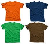 Blank t-shirts 4 — Stock Photo