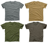 Blank t-shirts 5 — Stock Photo