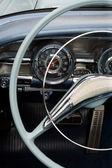Antique car dashboard — Stock Photo