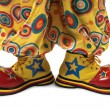 Stock Photo: Clown shoes