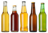 Blank beer bottles — Stock Photo