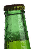 Green Beer bottle top — Stock Photo