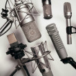 Royalty-Free Stock Photo: Microphones