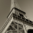 Royalty-Free Stock Photo: Eiffel Tower sepia