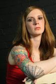 Tattoo Girl 2 — Stock Photo