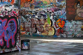 Graffiti alley — Stock Photo